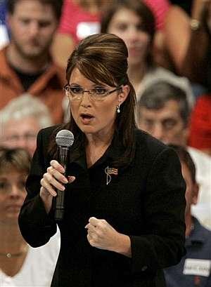 La gobernadora de Alaska, Sarah Palin. (Foto: AP)