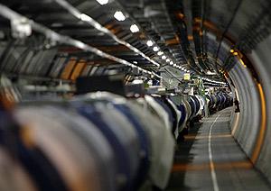 Parte del acelerador de partículas LHC, en Ginebra. (Foto: AP)
