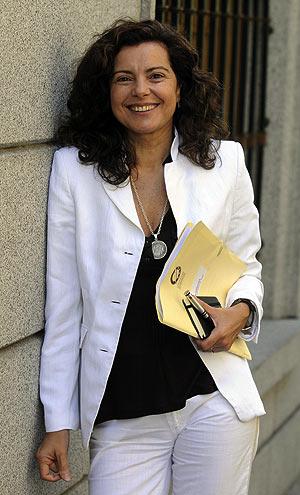 La periodista gallega Magis Iglesias, nueva presidenta de la FAPE. (Foto: EFE)