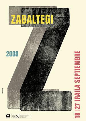 Cartel de la sección Zabaltegi del festival.