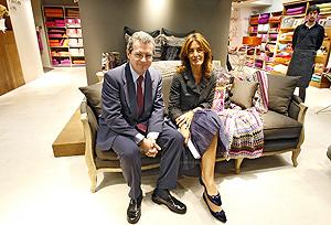 f4db5051229f7 El vicepresidente del grupo Inditext y la directora de Zara Home en Valencia.  (Foto
