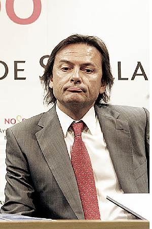 Jesús Lizcaino, presidente en España de Transparencia Internacional. (Foto: Jesús Morón)