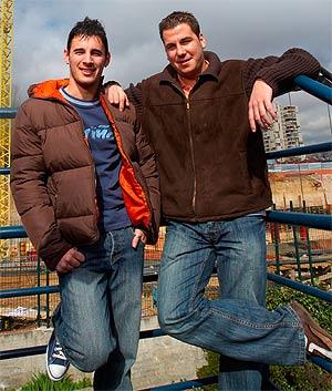 Andy y Lucas. (Foto: Ricardo Cases)
