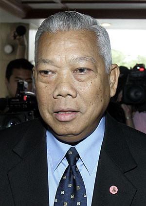 Samak Sundaravej, ex primer ministro tailandés. (Foto: AFP)