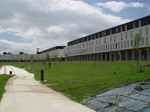 Algunas de las viviendas que configuran esta ciudad ecológica. (Foto: NASURSA)