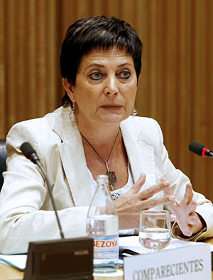 Gallizo, en su comparecencia ante la Comisión de Interior del Congreso. (Foto: EFE)