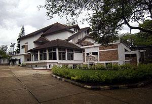 Residencia del ex presidente ruandés Juvenal Habyarimana en Kigali. (Foto: REUTERS)