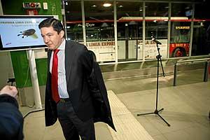 Pedro Calvo, en una imagen tomada el pasado mes de enero. (Foto: Antonio M. Xoubanova)