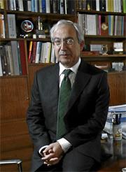 Pedro Pérez, portavoz del G-14. (FOTO: Begoña Rivas)