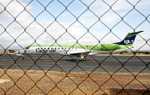 Avión de la compañía Lagunair. (Foto: LAFOTOTEKA)