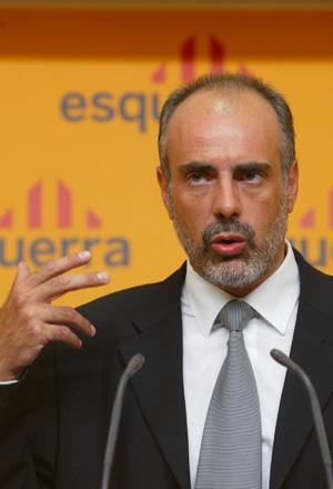 El secretario general de ERC, Joan Ridao. (Foto: Antonio Moreno)