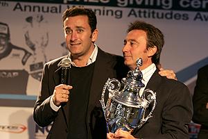 Alejandro Agag, junto a Adrián Campos en una imagen de archivo. (Foto: Campos GP2)