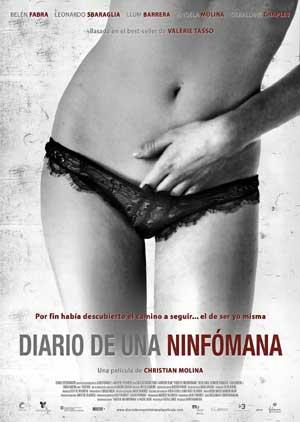 Cartel de la película 'Diario de una ninfómana'.