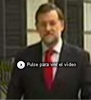 Vea el polémico plano de Rajoy.