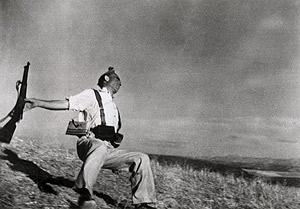 'Muerte de un miliciano', de Robert Capa.