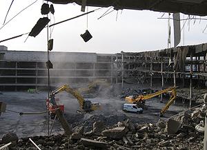 Demolición. (Foto: Detecsa)