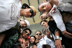 Los jóvenes que han participado en el proyecto. (Foto: Santi Cogolludo)