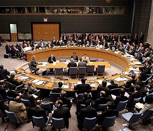 Los miembros del Consejo de Seguridad de la ONU, durante una reunión. (Foto: EFE)