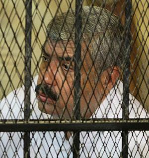 Hisham Talaat Mustafa, acusado de ordenar el asesinato. (Foto: AFP)