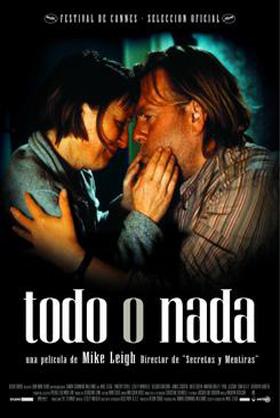 Cartel de 'Todo o Nada', de Mike Leigh