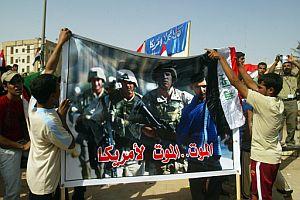 Manifestación en Irak contra la presencia de las tropas de EEUU. (Foto: AFP)