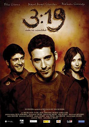 Cartel de la película 3:19, del mexicano Dany Saad.