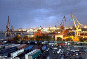 Imagen del puerto de Valencia. (Foto: Vicent Bosch)