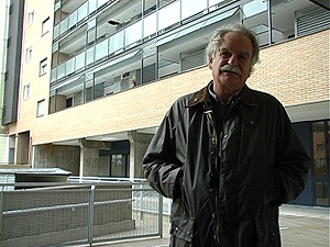 José Horcajada, arquitecto que ha diseñado la corrala contemporánea del Ensanche de Vallecas.