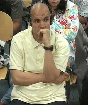 Hassan El Haski, durante el juicio del 11-M. (Foto: EL MUNDO)