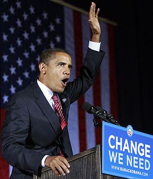 Obama pronuncia un discurso en Canton, en el estado clave de Ohio. (Foto: REUTERS)