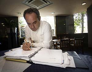 Adrià, estudioso de la cocina. (Foto: Clickartfoto)