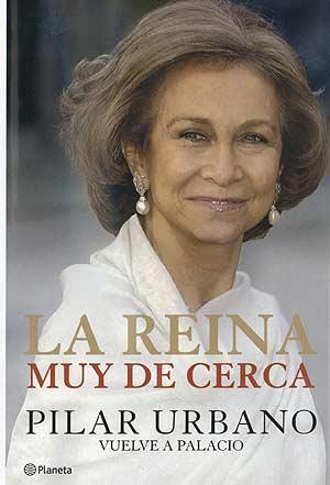 Portada del libro sobre la Reina, de Pilar Urbano.