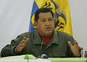 Hugo Chávez, durante un discurso. (Foto: REUTERS)