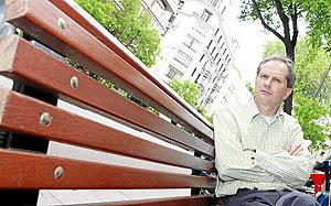 El escritor Josef Winkler, en una imagen de archivo. (Foto: Chema Tejeda)