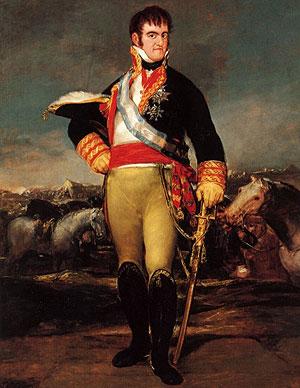 Fernando VII. No se nota.