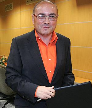 Javier Madrazo. (Foto: Nuria González)