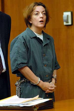 María José Carrascosa en la corte superior de Hackensack, Nueva York, en enero. (Foto: EFE)