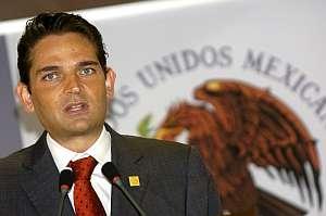 El secretario mexicano de Gobernación, Juan Camilo Mouriño. (Foto: EFE)