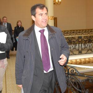 Miquel Nadal, conseller de Turismo (Foto: Pep Vicens).