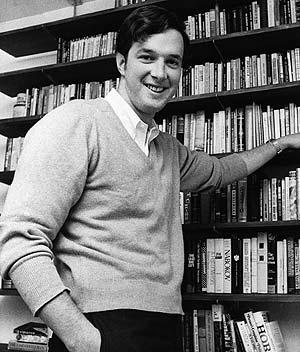 Crichton, en una imagen de 1969, durante su época como estudiante de Medicina. (Foto: AP)