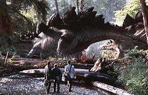 Una escena de la adaptación cinematográfica de 'Un mundo perdido'.
