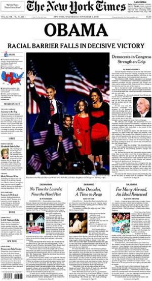 Un ejemplar del 'New York Times' como éste se encuentra actualmente a la venta en Ebay por 850 dólares.