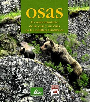 """Portada del libro """"Osas"""", de la Fundación Oso Pardo."""