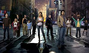 Los integrantes de la serie 'Héroes'.