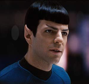 Zachary Quinto, el 'villano' de 'Héroes', interpreta a Spock.