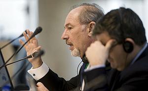 El ex director del FMI, Rodrigo Rato (Foto: EFE).