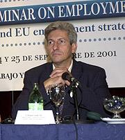Eberhard Grosske, en una imagen de 2001. (Foto: EFE)