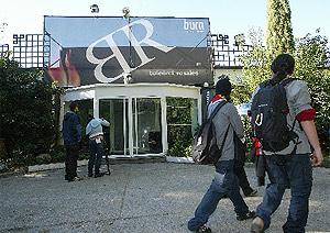 Imagen de la discoteca Pintor de Rosales, donde murió un joven presuntamente apaleado por los porteros del local. (EM)