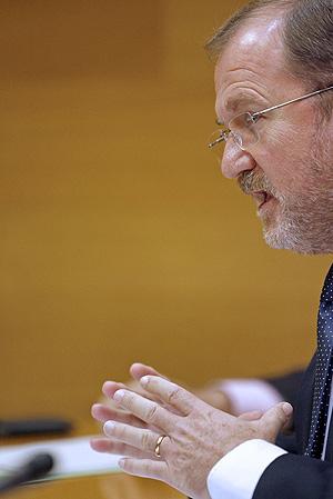 El conseller de Educación, Alejandro Font de Mora. (Foto: EFE)