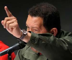 El dirigente de Venezuela, Hugo Chávez. (Foto: EFE)